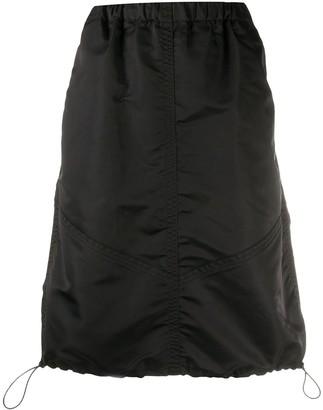 YMC Drawstring-Hem Parachute Skirt