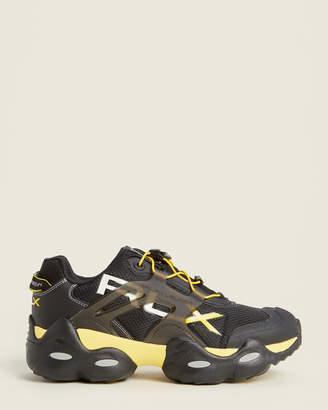 Polo Ralph Lauren Black & Racing Yellow RLX Tech Low-Top Sneakers