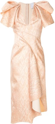 Acler Redwood cobra print dress
