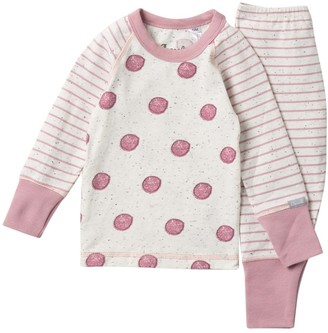 Coccoli Stripe Sleeve Top & Pant Set (Baby)