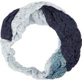 Missoni Twisted metallic crochet-knit headband
