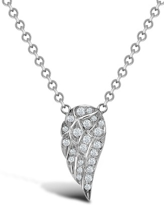 Pragnell 18kt white gold brilliant cut diamond Tiara pendant