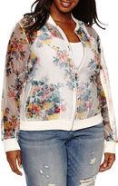 Boutique + Ashley Nell Tipton for + Bomber Jacket-Plus
