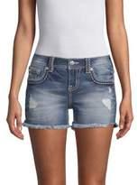 Miss Me Distressed Denim Shorts