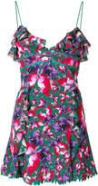 La Perla ruffle trim printed dress