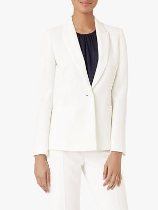 Hobbs Gigi Blazer Jacket, Ivory