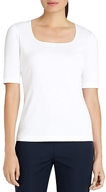 Lafayette 148 New York Square Neck Tee