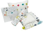 Petit Pehr Showers Crib Sheet, Swaddle, Blanket & Pillow Set