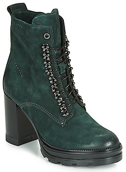 Mjus AMARANTA women's Low Ankle Boots in Green