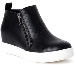 Time and Tru Sneaker Wedge Bootie (Women's) (Wide Width Available)