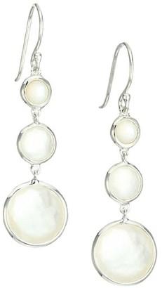 Ippolita Lollipop Lollitini Sterling Silver, Mother-Of-Pearl & Doublet Triple-Drop Earrings