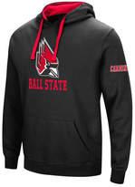 Colosseum Men's Ball State Cardinals Big Logo Hoodie
