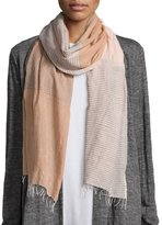 Eileen Fisher Hand-Loomed Color Shift Scarf, Dune