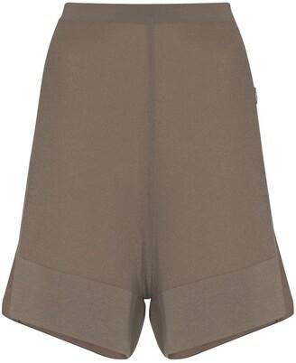 Moncler + Rick Owens Sisy knit shorts