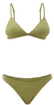 Haight Bia Triangular Bikini - Green