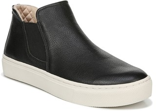 Dr. Scholl's Flatform Leather Sneaker Booties -Awake