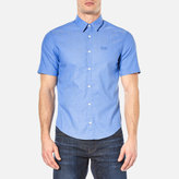 BOSS GREEN Men's Busterino Shirt Medium Blue