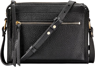 GiGi New York Whitney Pebbled Leather Crossbody Bag