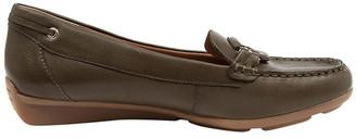 Supersoft By Diana Ferrari Leeto Flat Shoes Khaki Euro Leather