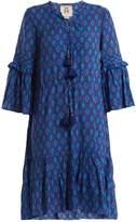 Figue Poet ruffle-trimmed cotton-blend dress