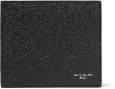 Givenchy Eros Pebble-Grain Leather Billfold Wallet