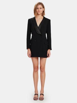 Rebecca Minkoff Archie Tuxedo Mini Dress