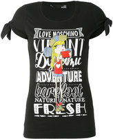 Love Moschino printed T-shirt - women - Cotton/Spandex/Elastane - 38