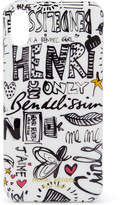 Henri Bendel Graffiti Graphic Case for iPhone X