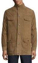Peter Millar Crown Suede Safari Jacket