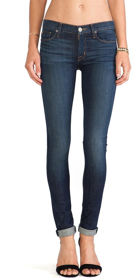 Hudson Jeans Shine Skinny