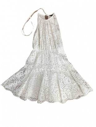 Juicy Couture Ecru Lace Dress for Women