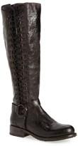 Bed Stu Women's Burnley Knee-High Corset Boot