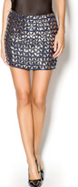 Endless Rose Navy Glam Skirt