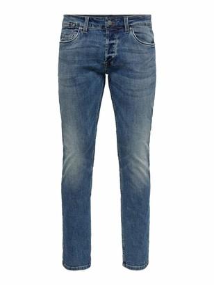 ONLY & SONS Men's ONSWEFT REG PK 5255 NOOS Slim Jeans