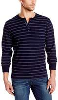 Lucky Brand Men's Indigo Surfside Henley Shirt