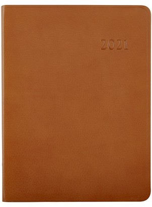 Graphic Image 2021 Leather Desk Diary
