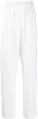 Forte Forte elasticated waist straight-leg trousers