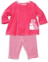 Offspring Baby Girl's Two-Piece Top & Pants Set