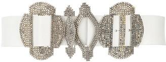 Gianfranco Ferré Pre-Owned 2000s Crystal-Embellished Belt