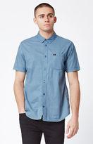 RVCA Speckles Short Sleeve Button Up Shirt