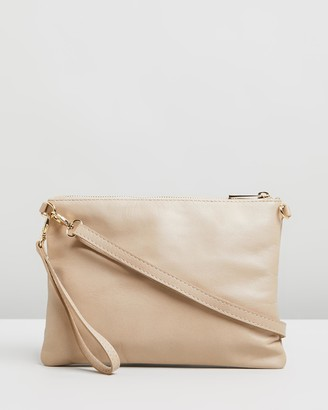 Bee Women's Neutrals Leather bags - Tully - Size One Size at The Iconic