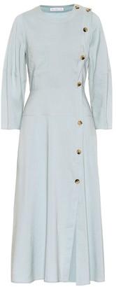 REJINA PYO Michaela cotton-blend midi dress