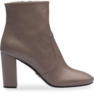 Prada Madras ankle boots