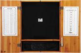 VIPER Viper Metropolitan Oak Steel Tip Dartboard Cabinet