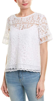 French Connection Arta Lace Top
