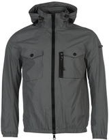 Duck And Cover Chrome Nylon Lightweight Jacket
