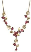 Swarovski Tropical Flower Y-Necklace (Light Multi) Necklace