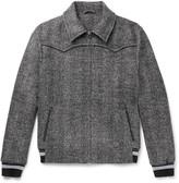 Lanvin - Herringbone Virgin Wool-blend Jacket