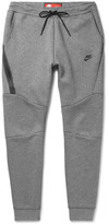 Nike Slim-fit Tapered Cotton-blend Tech Fleece Sweatpants