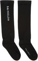 Rick Owens Black Cashmere Mastodon Socks